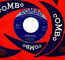 ADRIANA DEL POGGIO ATTILIO UZZO raro disco 45 giri STAMPA ITALIANA Blue song