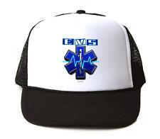 Trucker Hat Cap Foam Mesh EMS EMT Medical Service Star Life Ambulance