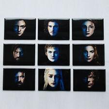GAME OF THRONES POSTER MAGNETS daenerys tyrion jon snow joffrey arya stark jaime