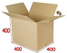 lot de 10 boîtes carton ou emballage caisse carton 400 X 400 X 400 mm DD
