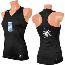Adidas Supernova 3S Damen Tank Top Boxer Shirt Marathon Laufhirt ärmelos schwarz