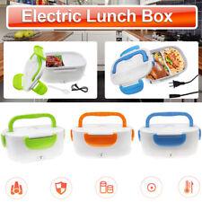 Electric Heated US Plug Heating Lunch Box Bento Travel Food Warmer 110V Plastic