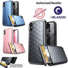 iPhone X Case, i-Blason Argos Card Holder Case Cover For Apple iPhone X