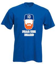 "Justin Turner Los Angeles Dodgers ""Beard"" jersey T-shirt Shirt or Long Sleeve"