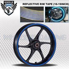REFLECTIVE RIM TAPE WHEEL STRIPE MOTO BIKE AUTO DECAL STICKER 16 17 18 19 INCH