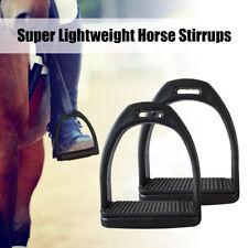 1Pair Horse Riding Saddle English Stirrups Adult Kid Equestrian Stirrups Useful