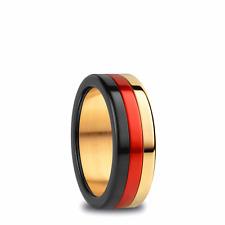 BERING Komplett Ring Deutschland Ring schwar rot gold Ring Arctic Symphon