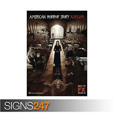 American HORROR STORY Asylum 2-II serie tv americana stagione (1114) POSTER stampati