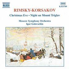 NEW Rimsky-Korsakov: Christmas Eve / Night on Mount Triglav (Audio CD)