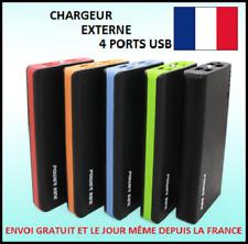 CHARGEUR EXTERNE TÉLÉPHONE 100000MAH 4 USB 1A 2,1A BATTERIE SECOURS POWERBANK