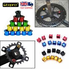 Litepro 4PCS Single/Triple Chainring Bolts AL7075 MTB Road Bike Chainset Screws