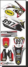 KIT grafica STEVE per Honda Cr e Crf