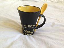 Coffee mug with spoon - boxed