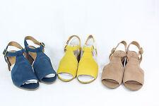 Franco Sarto T-Strap Sandals Adjustable Ankle Strap - Heron PICK SIZE COLOR NW