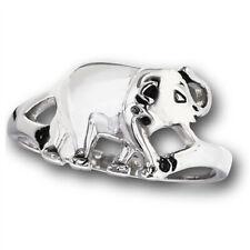 High Polish Elephant Large Animal Marching Ring Stainless Steel Band Sizes 5-10
