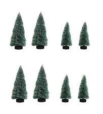 Deko-Tannen RAYHER 4-12 cm Weihnachten Mini-Garten Bäume TANNENBÄUME beschneit