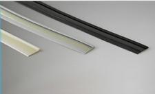 Gummi Fensterbankdichtung für Aluminium Fensterbank schwarz ,weiss oder grau