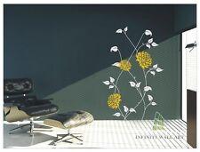 ADESIVI da Parete FIORE ALBERO FARFALLA Famiglia Muro ARTE Adesivi Murali Vivaio kid-p337