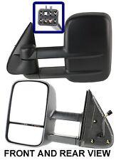 Chevrolet Silverado 1500 2500 HD 2001-2002 Power Telescopic Side Mirrors PAIR