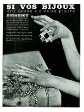 """Publicité Ancienne """" DUSAUSOY Si vos Bijoux ont Cessé de vous Plaire  """" ( P18 )"""