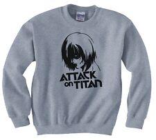 """ATTACK ON TITAN, ANIME """"ANNIE LEONHART"""" SWEATSHIRT NEW"""