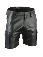 awanstar Cargo Ledershorts aus Napaleder leder hose,leather shorts,lederhose
