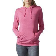 Adidas Women Sweats Hoodies Sw Pullover Hoodie Shock Pink
