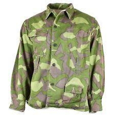Original Finnish army camo uniform M-62 Reversible suit jacket Large sizes