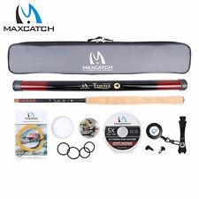 Maxcatch Tenkara Rod Combo Complete Kit 10/11/12/13ft 7:3 Action Fly Fishing Rod