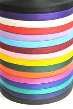 20mm Cushion Webbing 16 Colours Straps Dog Leads Collars x2 x5 x10 x25 50 Metres
