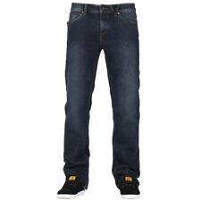 "Volcom ""Solver"" Denim Pants (Vintage Blue) Men's Modern Straight 16"" Jeans"