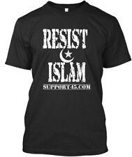 Resist Islam Gear - Support45.com Premium Tee T-Shirt