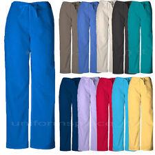 Cherokee Workwear Scurbs Pants Unisex Drawstring Cargo Pants 4100 Petite, Tall