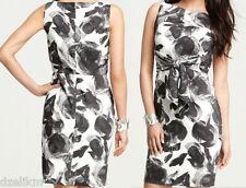 NWT Ann Taylor Lightweight Cotton Viole Floral Print Dress Size 14