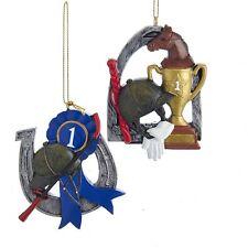 Equestrian Trophy Ornaments