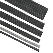 Gaine Tressée Élastique en Polyester 30 mm Noir