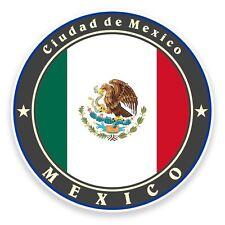 2 X Adesivo in Vinile del Messico Viaggio Bagaglio Auto #9234