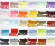 La Stephanoise 15mm Cotton Cluny Crochet Lace Ribbon - 36 Colours
