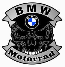 BMW Motorrad SKULL Sticker