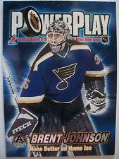 2001-02 ATOMIC POWER PLAY BRENT JOHNSON !!!! BOX # 3