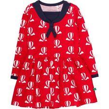 Green Cotton Sommerkleid Kleid Kleidchen Balloon Rot 116 122 128 134