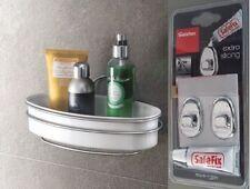 Badablage Badregal Duschregal 1Etage mit Kleinteile-Ablage ohne Bohren