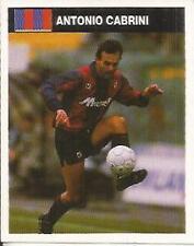 [AA] FIGURINA CAMPIONI &CAMPIONATO 1990/91-BOLOGNA-CABRINI