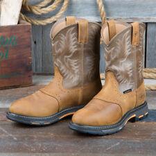 Ariat Workhog Waterproof Saddle Vamp Boots