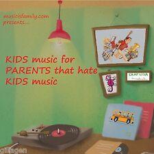 Children's Music Family CD Mr. Steve & Miss Katie, Lisa Loeb, Board of Education