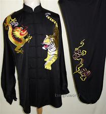 Silk Embroidery Tai Chi Uniform Wushu Kung fu Martial arts Sports Taiji Suit