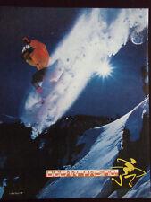 1989 Ocean Pacific Snowboarding Apparel Advertisement