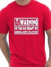 50 ans Git homme drôle 50e Anniversaire Cadeau Pères Jour T-Shirt Taille S-XXL
