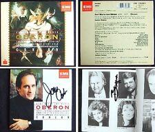 James CONLON & Ben HEPPNER Signed WEBER / MAHLER: OBERON Deborah VOIGT LAKES 2CD