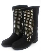 Friis & Company Stiefel Boots Lederstiefel Rosalina schwarz Nieten NEU
